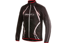 Craft Men&#039;s Performance Bike Featherlight Jacket black/red